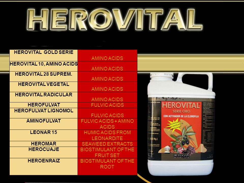 10. RANGE OF PRODUCTS The catalogue of HEROGRA ESPECIALES, S.L. is very extensive. To have a better idea of its contents and presentation please visit