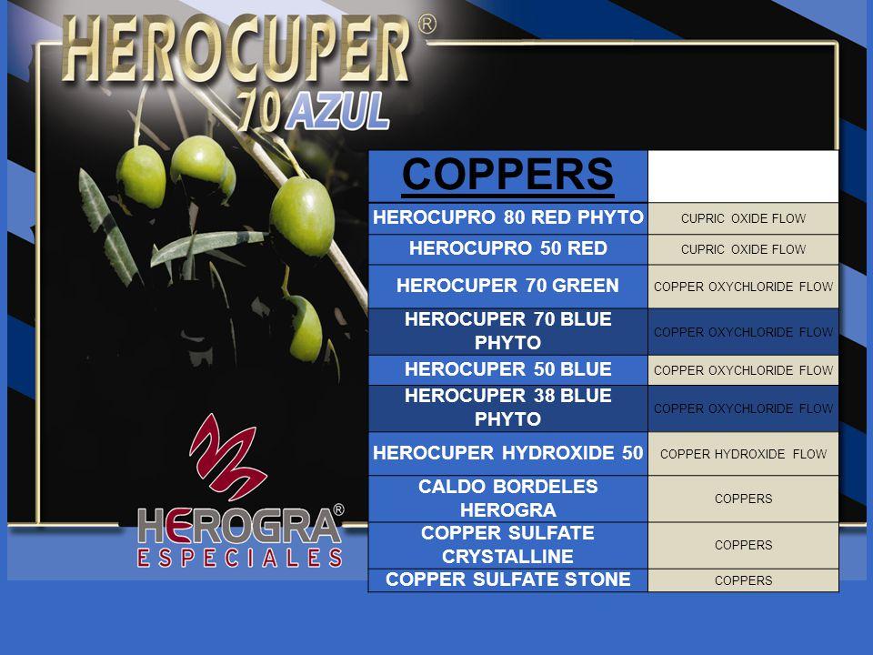 PHOSPHITES AND DEFENSES INDUCTORS FOSFIRON-K 0-30-20 FOSFIRON-Ca FOSFIRON-Mg FOSFIRON ZINC FOSFIRON COPPER HEROPROTEC