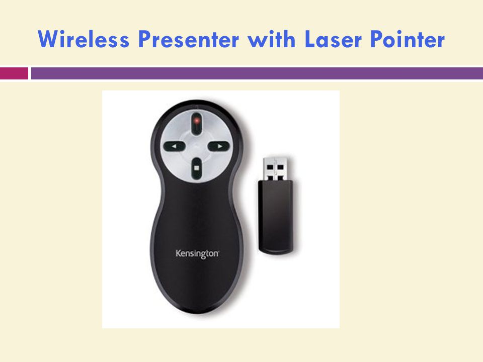 Wireless Presenter with Laser Pointer