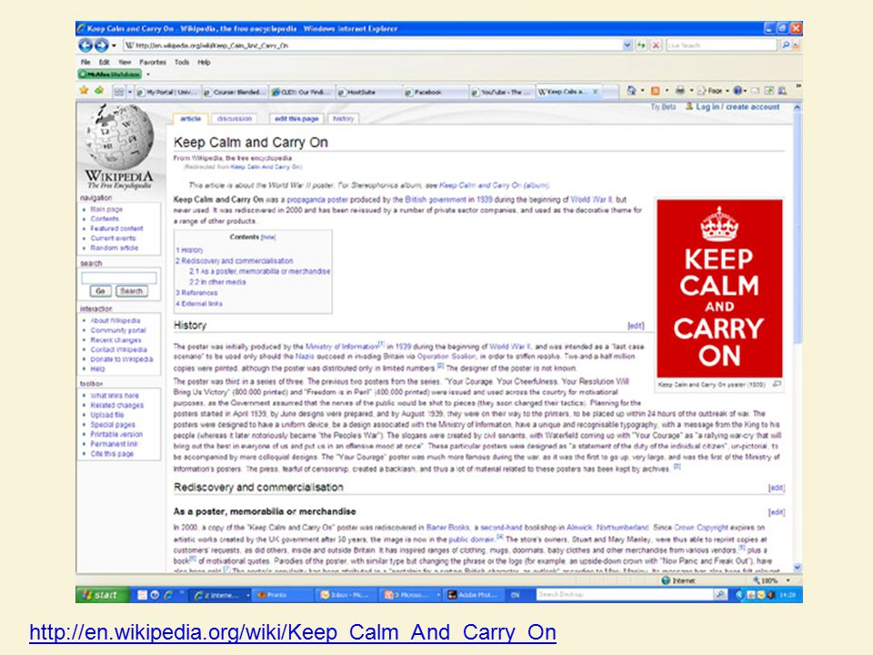 http://en.wikipedia.org/wiki/Keep_Calm_And_Carry_On