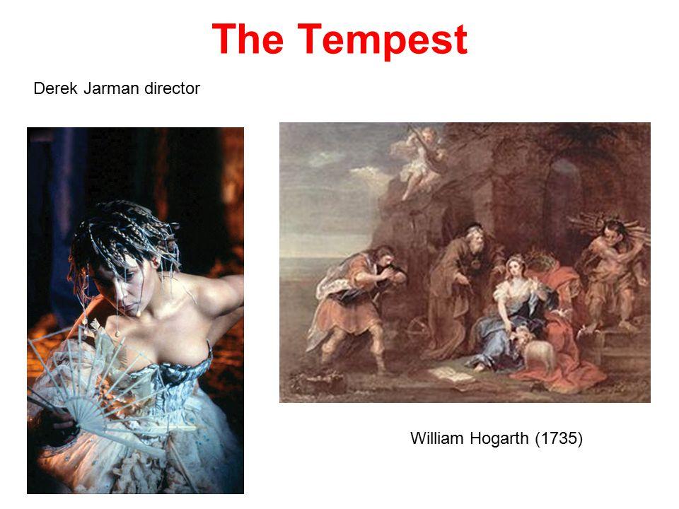 The Tempest William Hogarth (1735) Derek Jarman director
