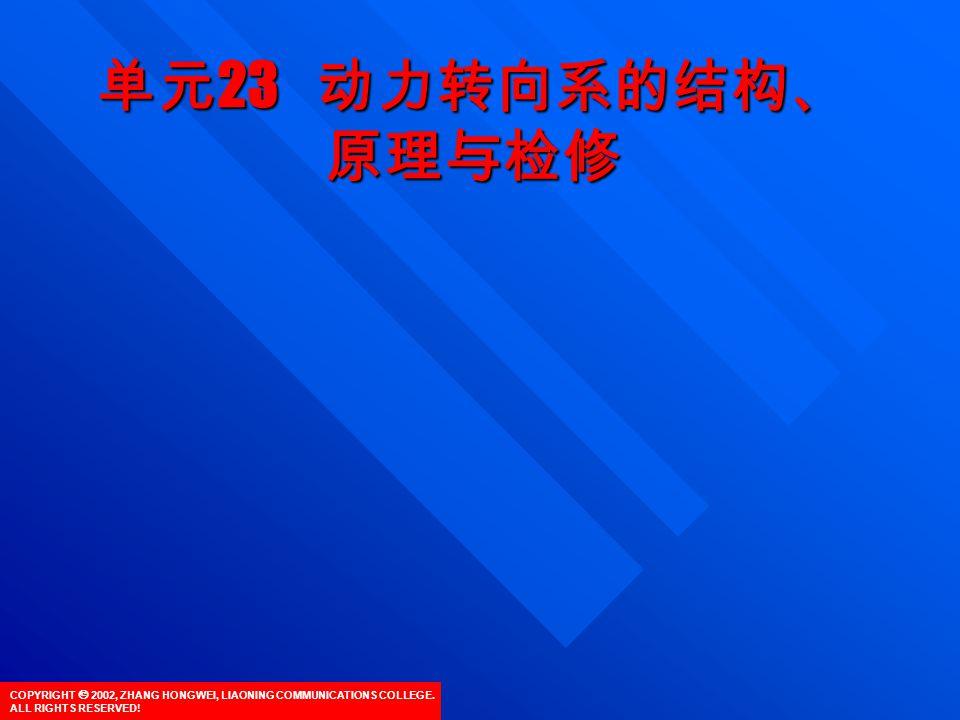 COPYRIGHT  2002, ZHANG HONGWEI, LIAONING COMMUNICATIONS COLLEGE.