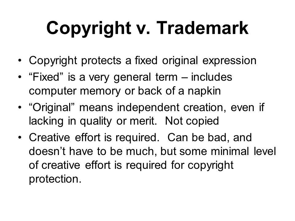 Copyright v.