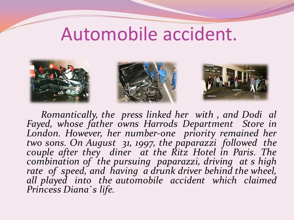 Automobile accident.