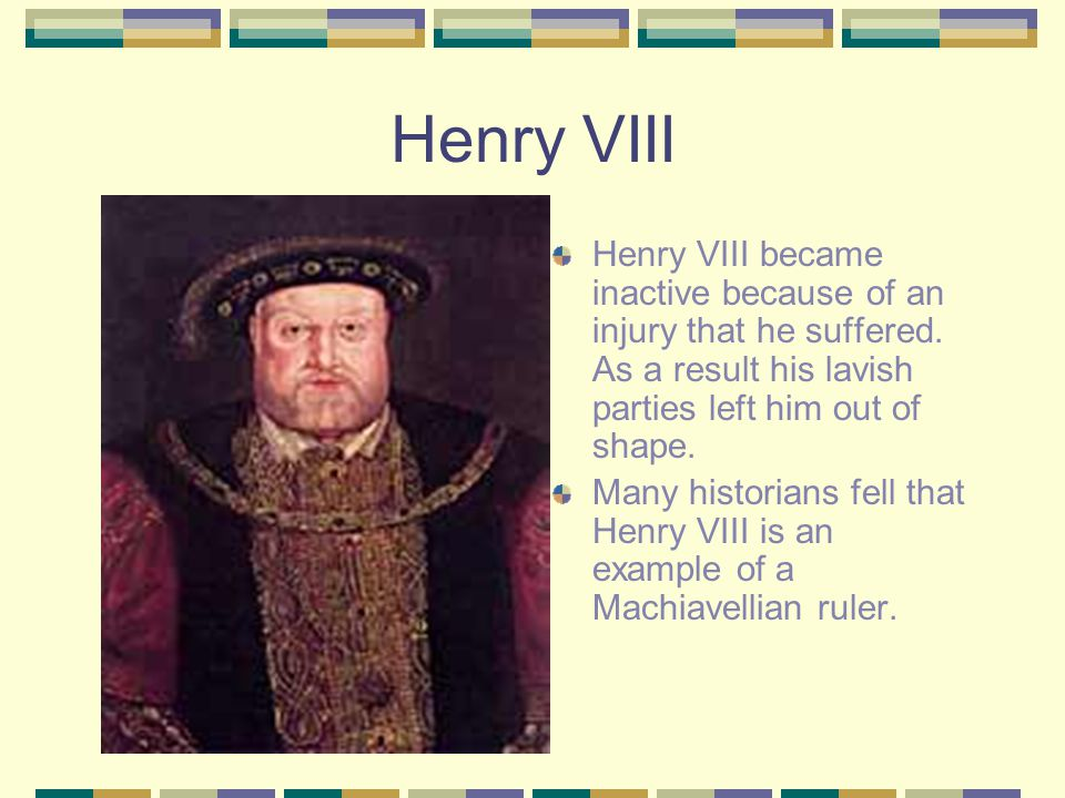 Henry's Act of Defiance Henry's reign will forever be marred by his personal life.