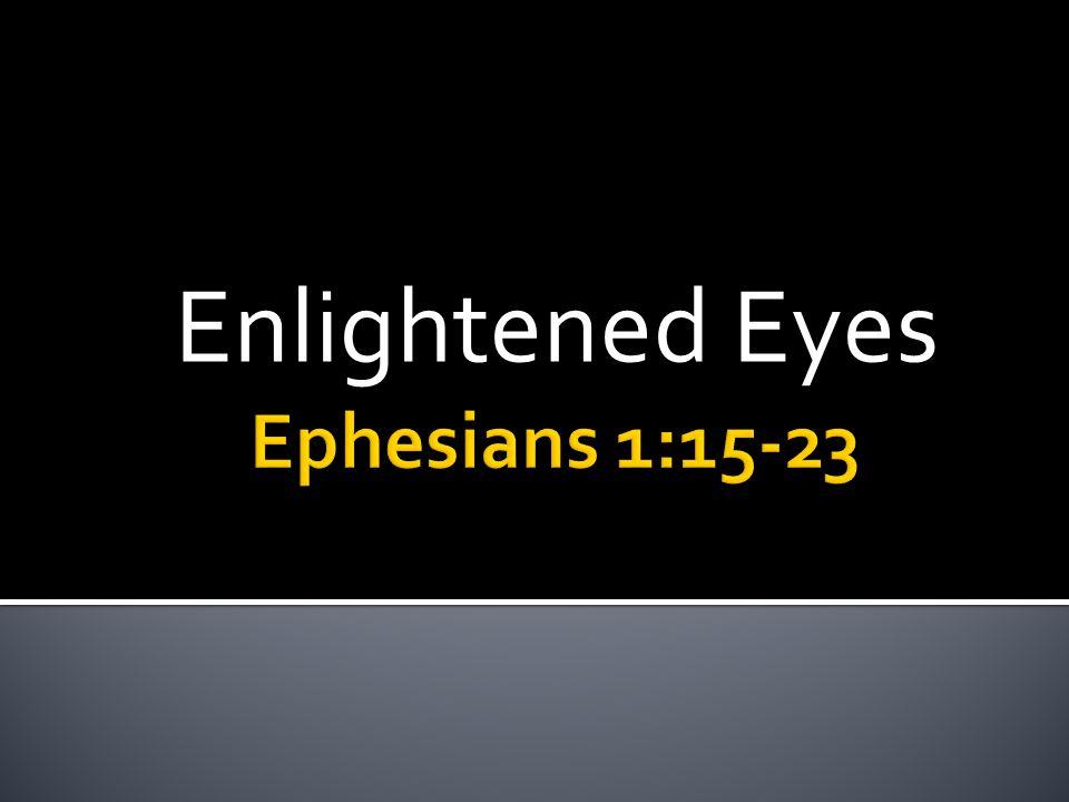 Enlightened Eyes