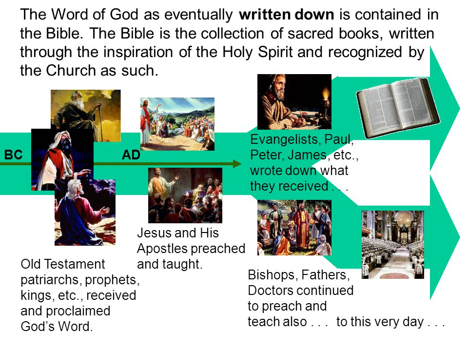 It is often said Catholics cannot interpret the Bible on their own.