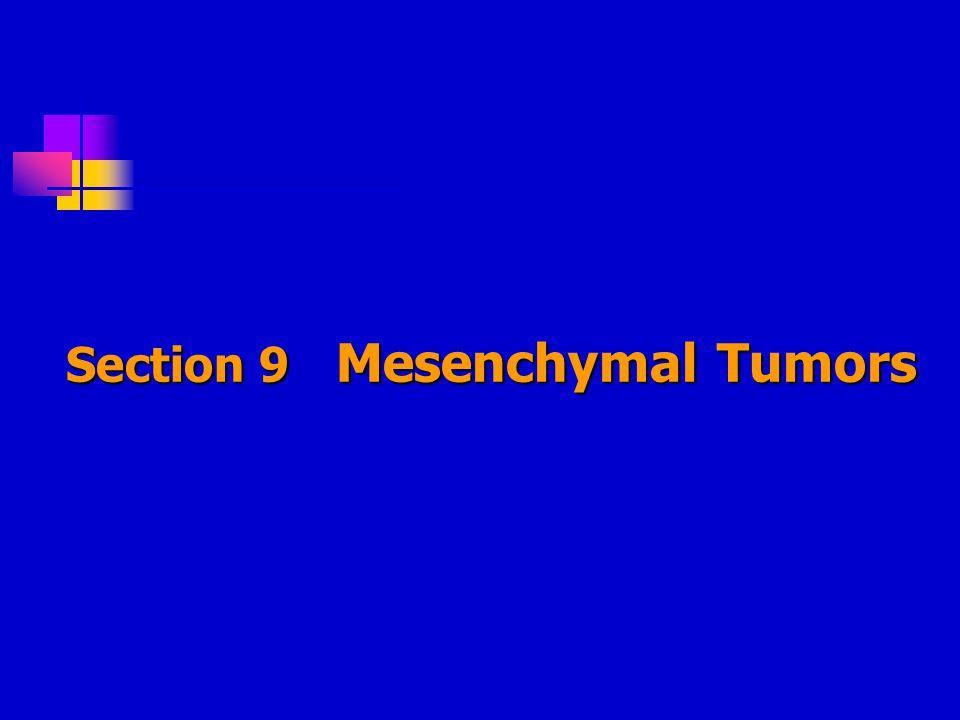 Section 9 Mesenchymal Tumors