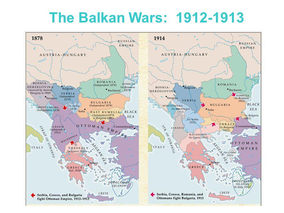 The Balkans in 1878