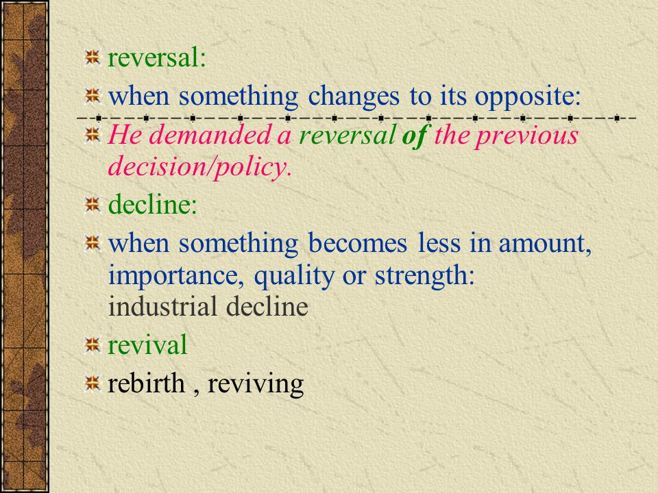 rebound: a quick recovery from or reaction to disappointment or depression a rebound from the economic crisis 重新振作 ; 回升 [(+from)] collapse: the sudden