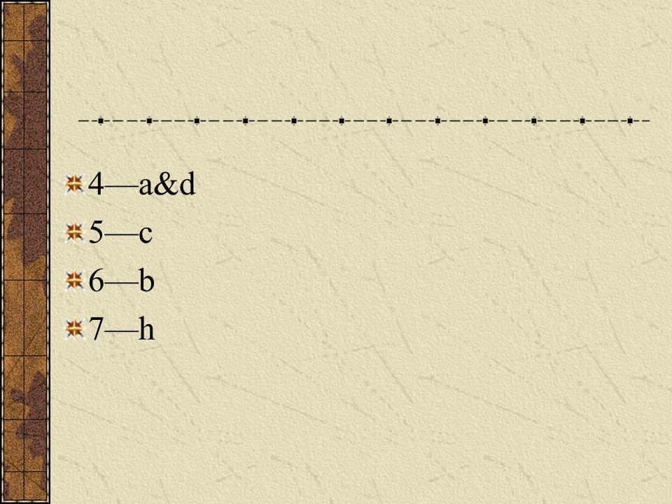 Key 1—g 2—f 3—e