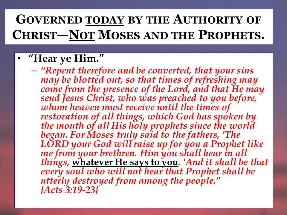 A POSTLES TO B E G UIDED BY H OLY S PIRIT To convict the world through the teaching of Christ.