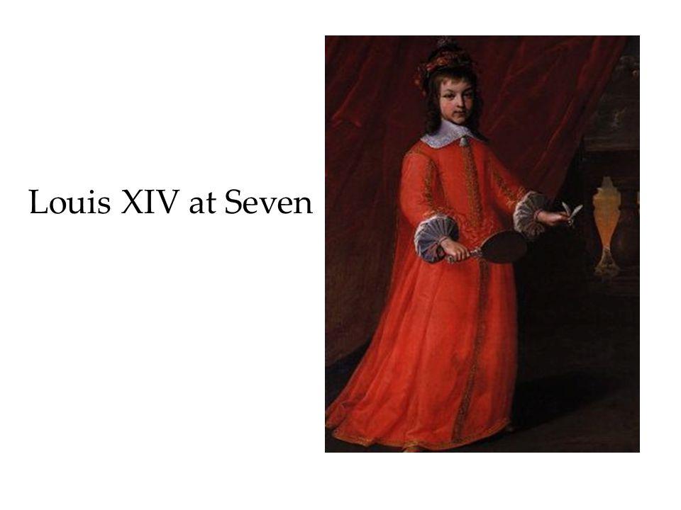 Louis XIV at Seven