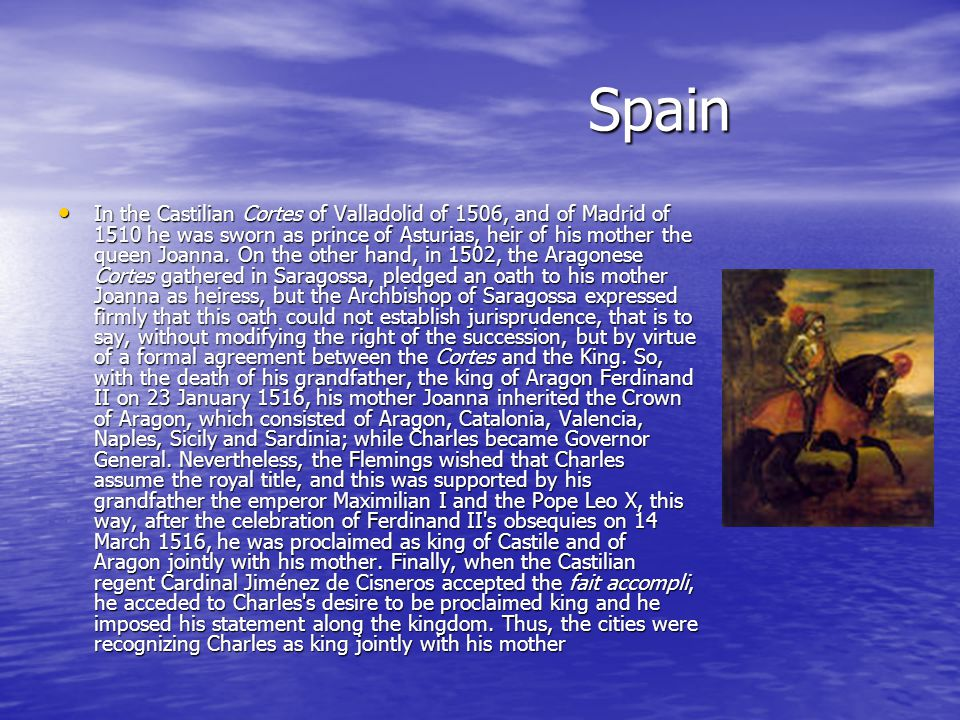 America During Charles reign, the territories in New Spain were considerably extended by conquistadores like Hernán Cortés and Francisco Pizarro, who caused the Aztec and Inca empires to fall in little more than a decade.