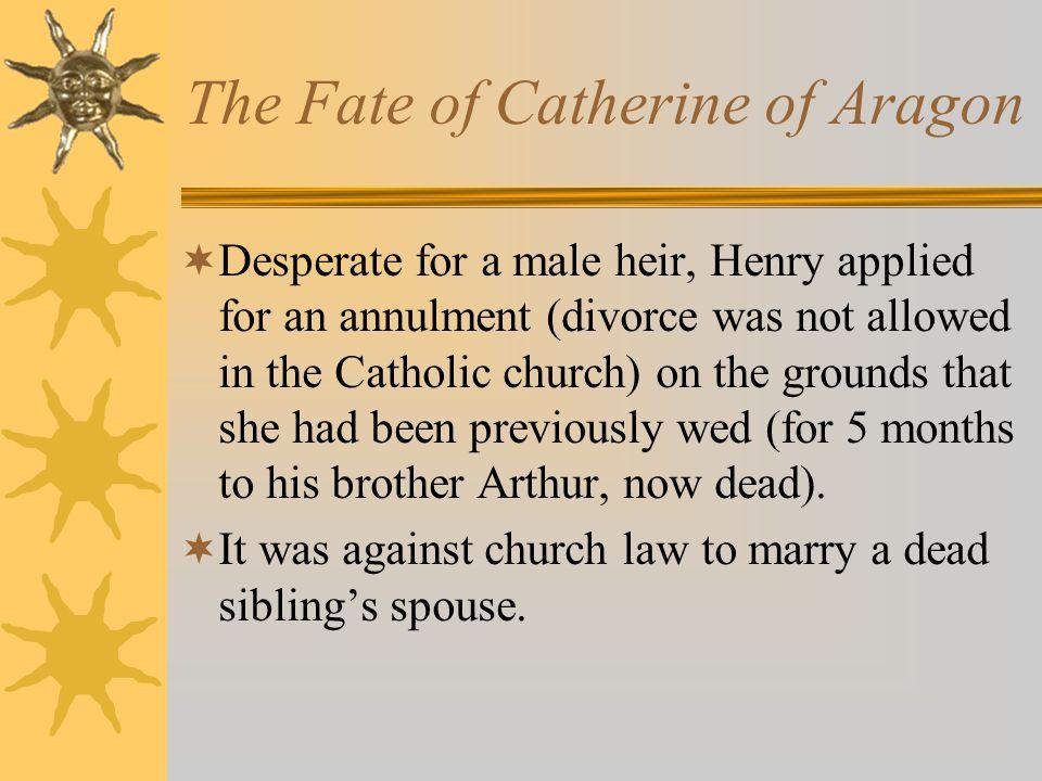 Henry VIII had SIX wives.