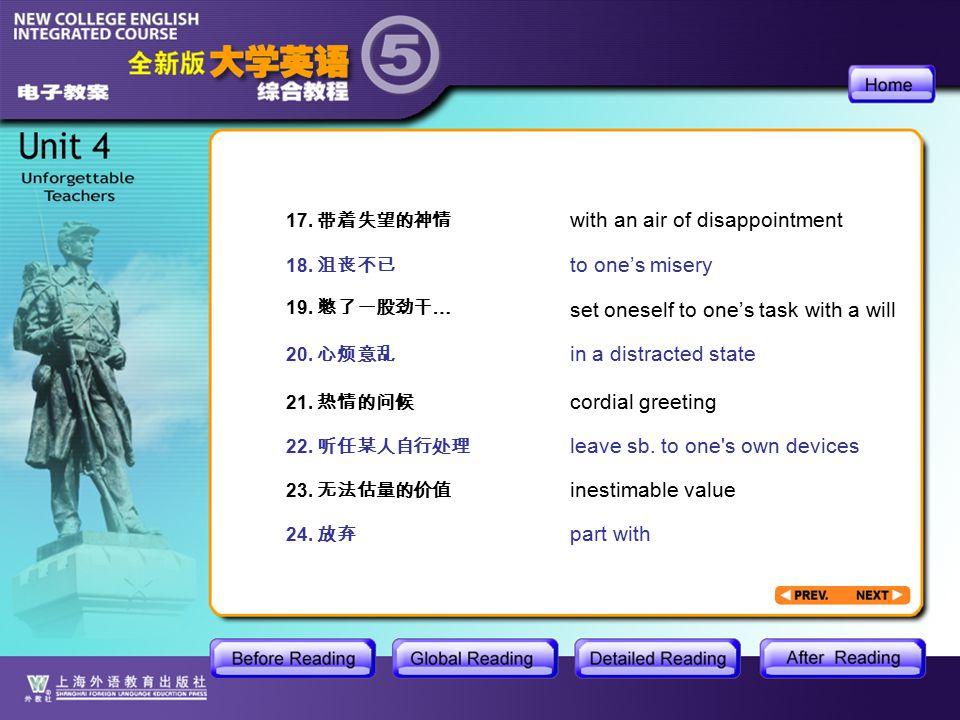 AR-Useful Expressions1.3 17. 带着失望的神情 18. 沮丧不已 19.
