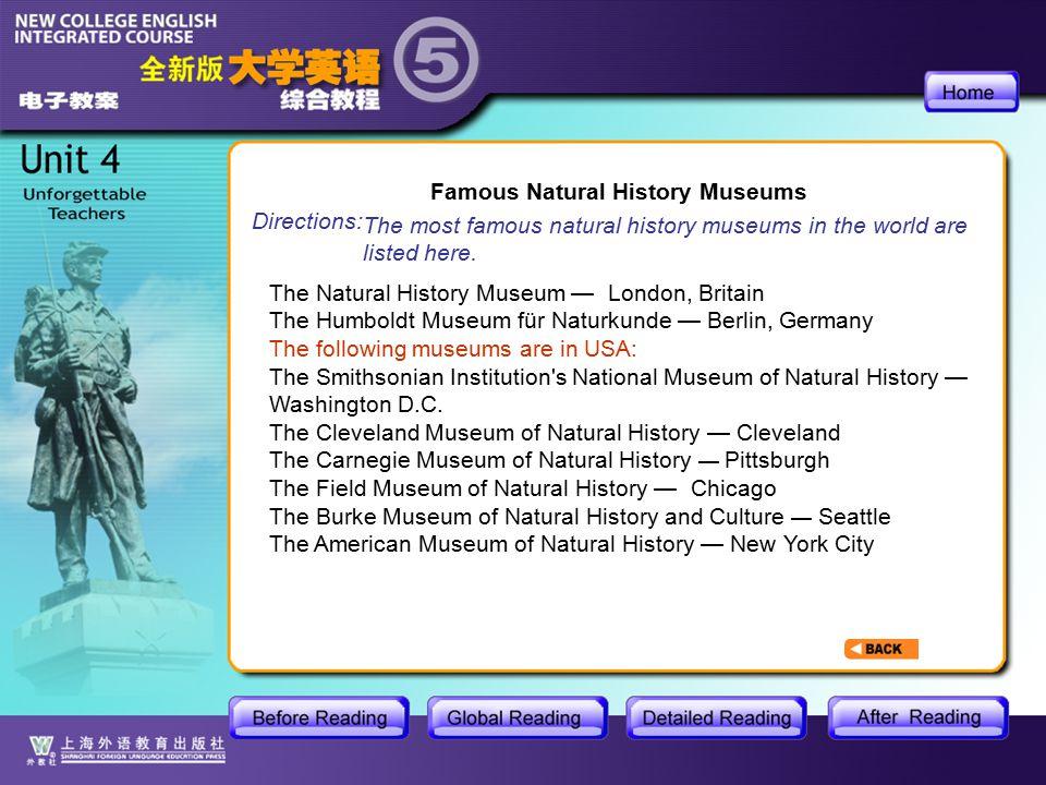 BR1- Natural History 13