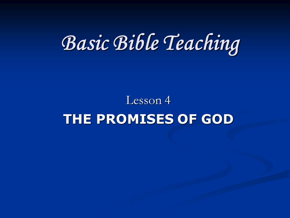 Has Abraham Received God's Promise.