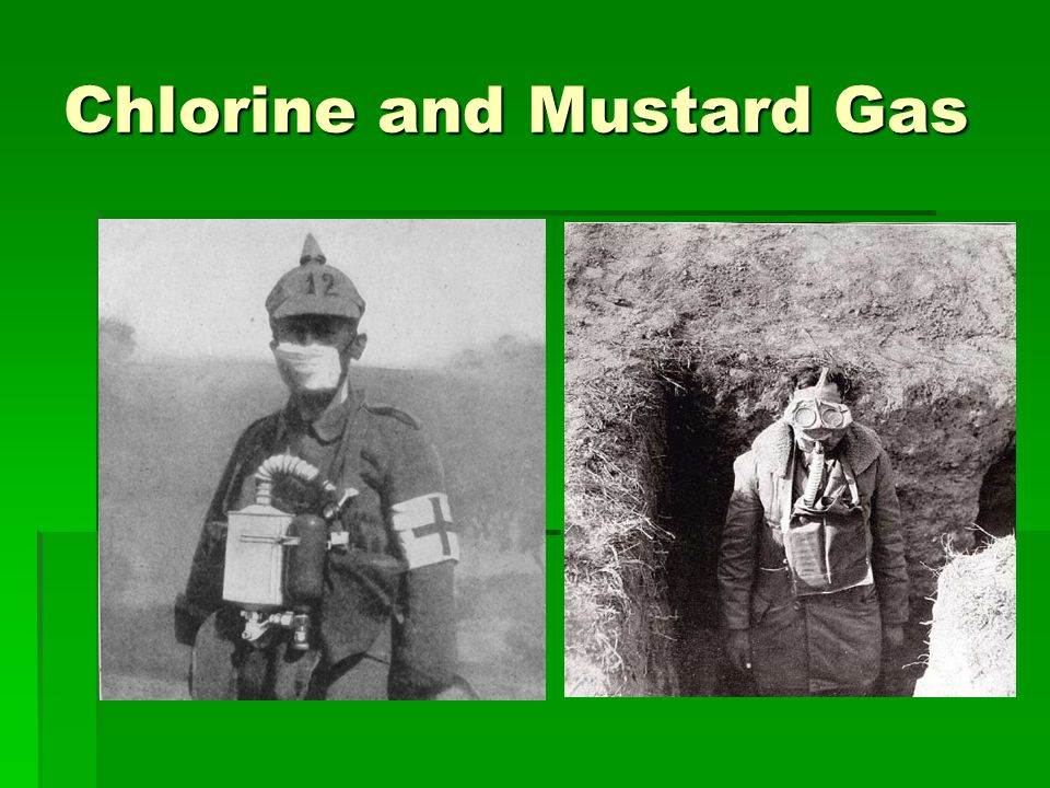 Chlorine and Mustard Gas