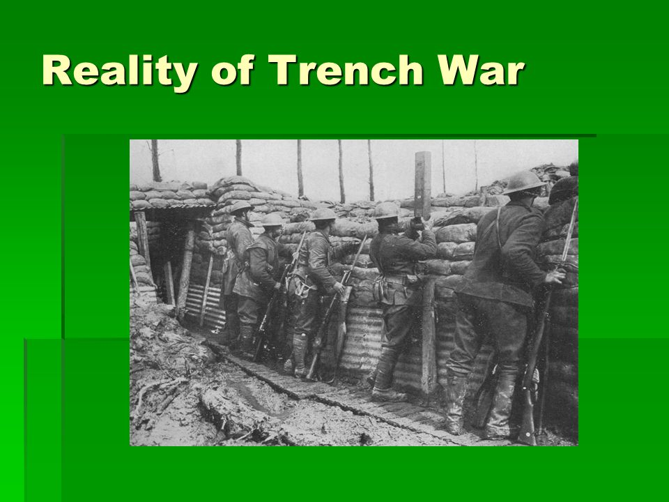 Reality of Trench War