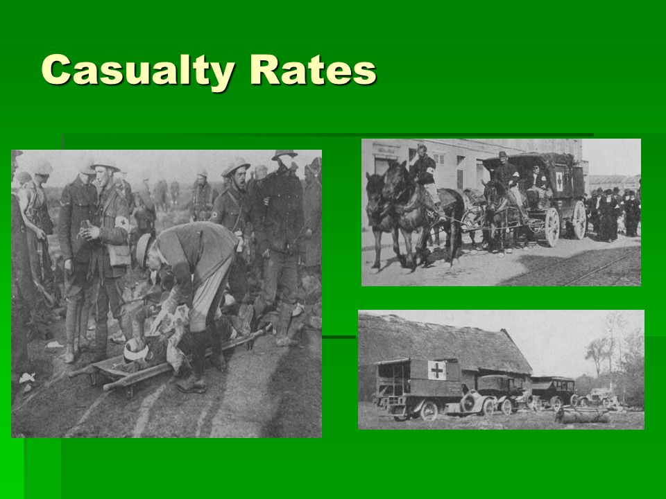 Casualty Rates