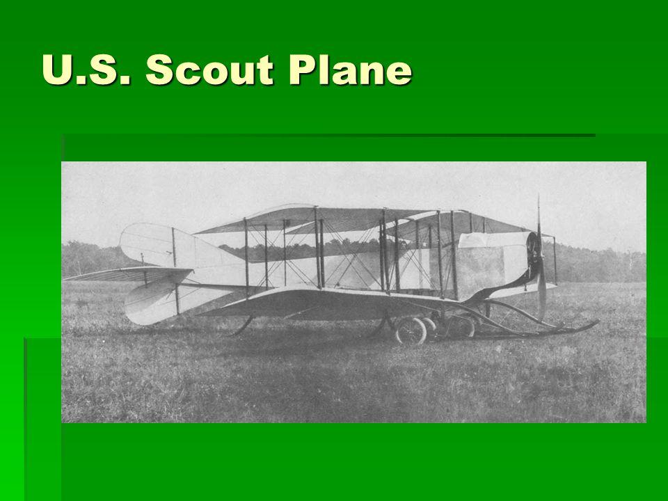 U.S. Scout Plane