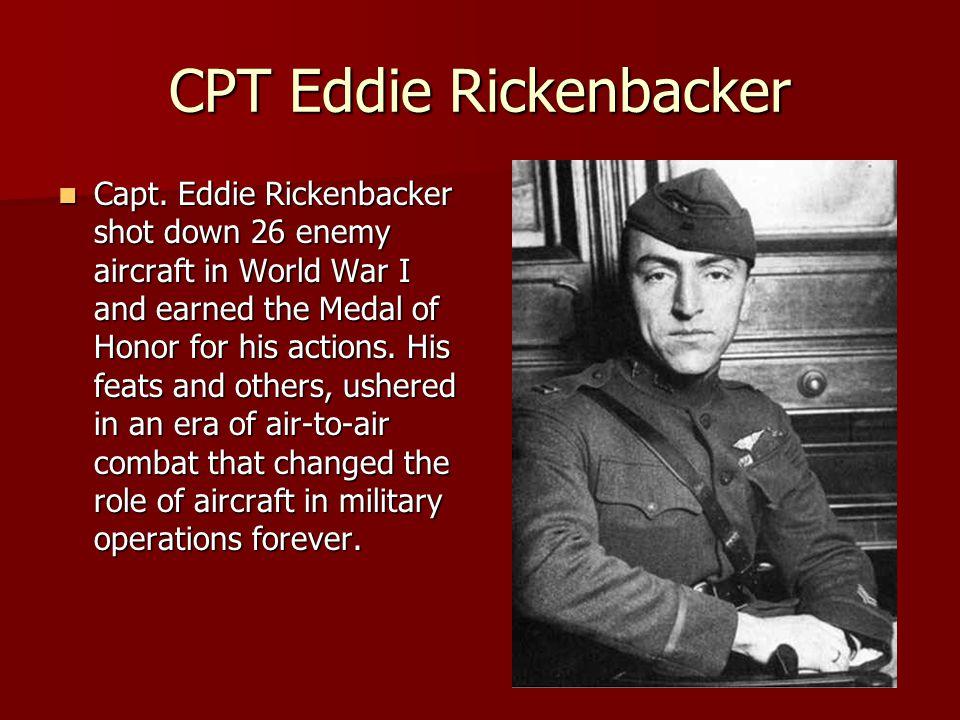 CPT Eddie Rickenbacker Capt.