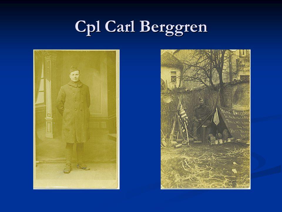 Cpl Carl Berggren