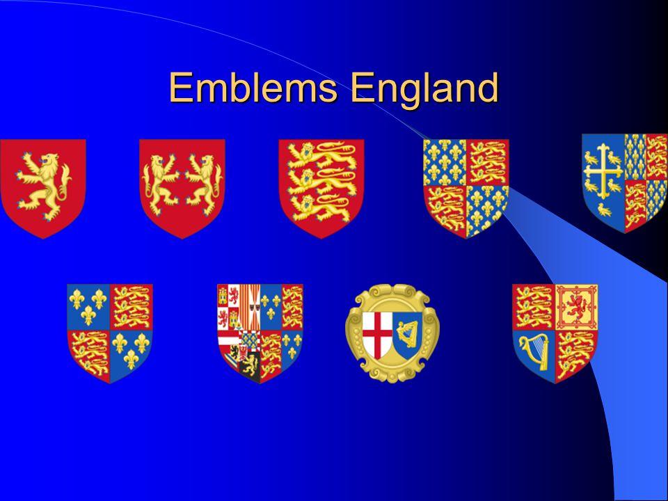 Emblems England