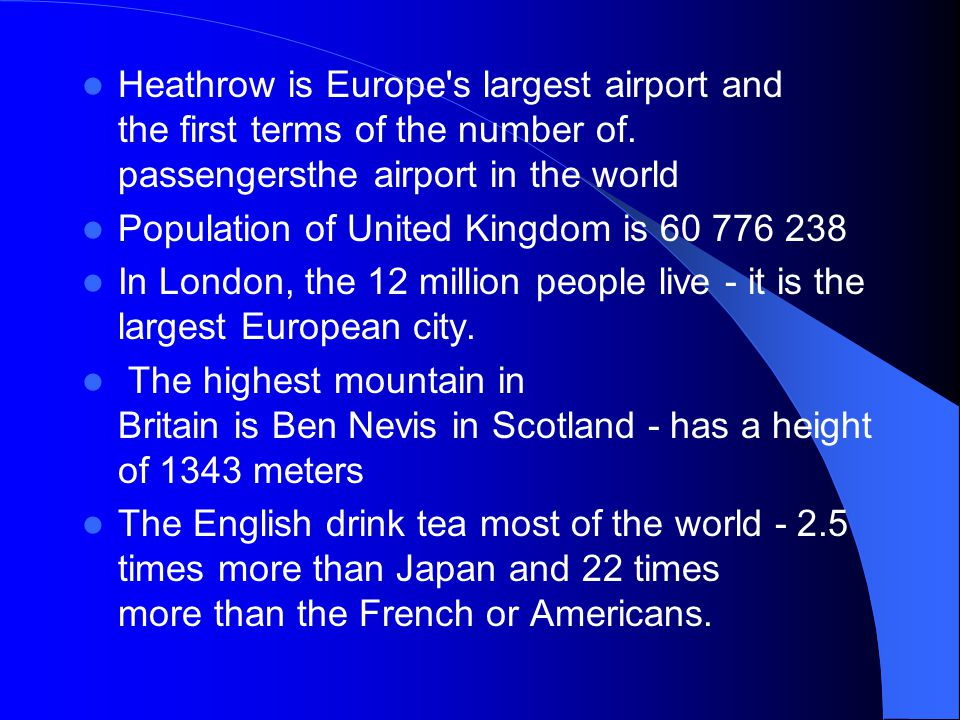 Heathrow is Europe s largest airport and the first terms of the number of.