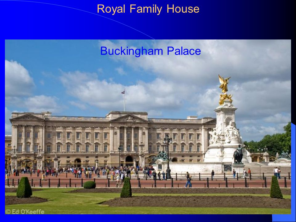 Buckingham Palace Royal Family House