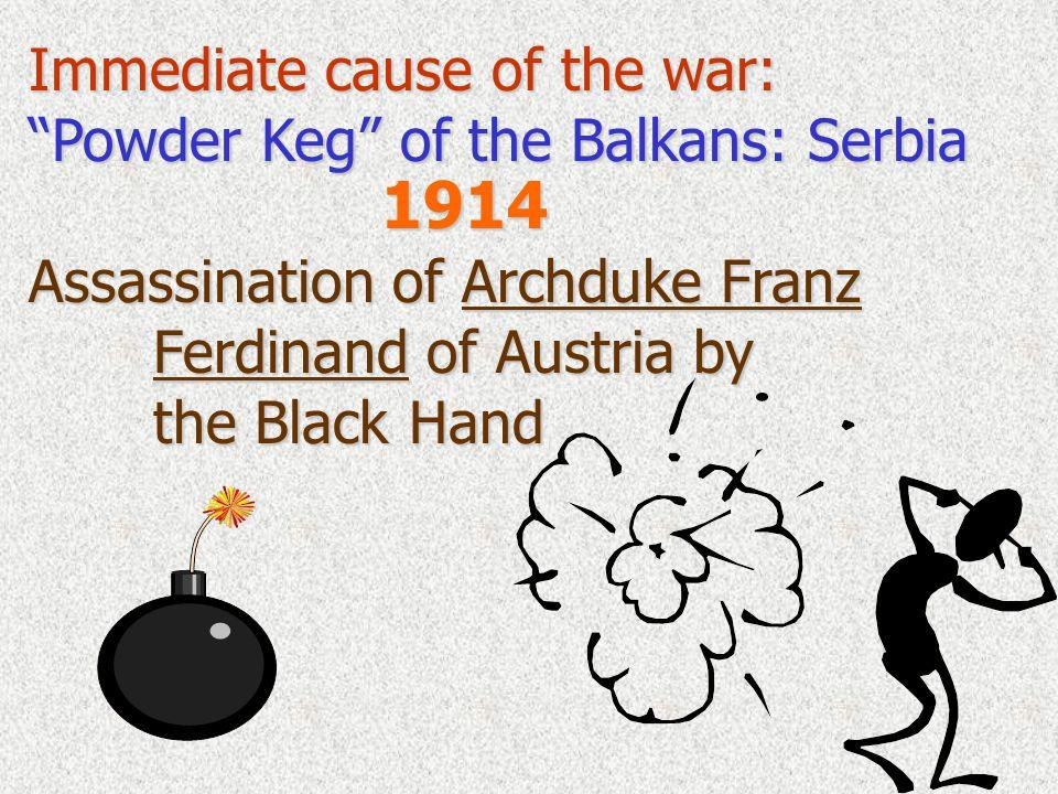 Austria declares war on Serbia Austria declares war on Serbia…. Triple AllianceTriple Entente Triple Alliance vs. Triple Entente Germany Russia stays
