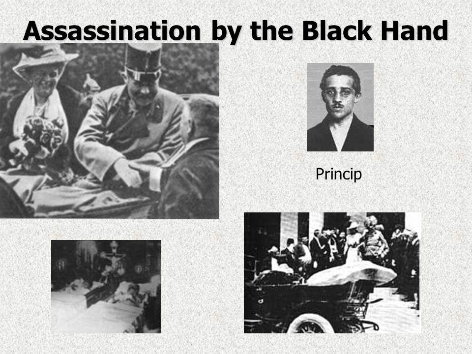 5. Crisis in the Balkans: the Powder Keg of Europe Assassination of Austrian heir:Assassination of Austrian heir: –Archduke Franz Ferdinand & wife Sop