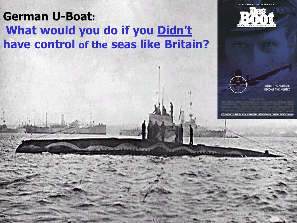 You had to save ships in the submarine zone 1917, US Admiral William Sims Problem: