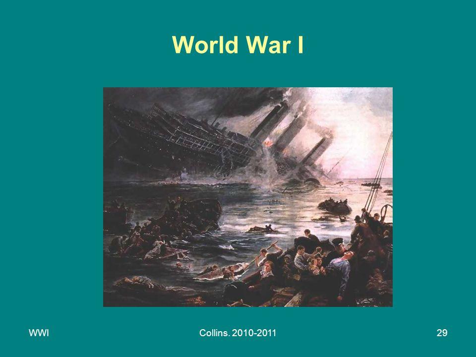 WWICollins. 2010-201129 World War I