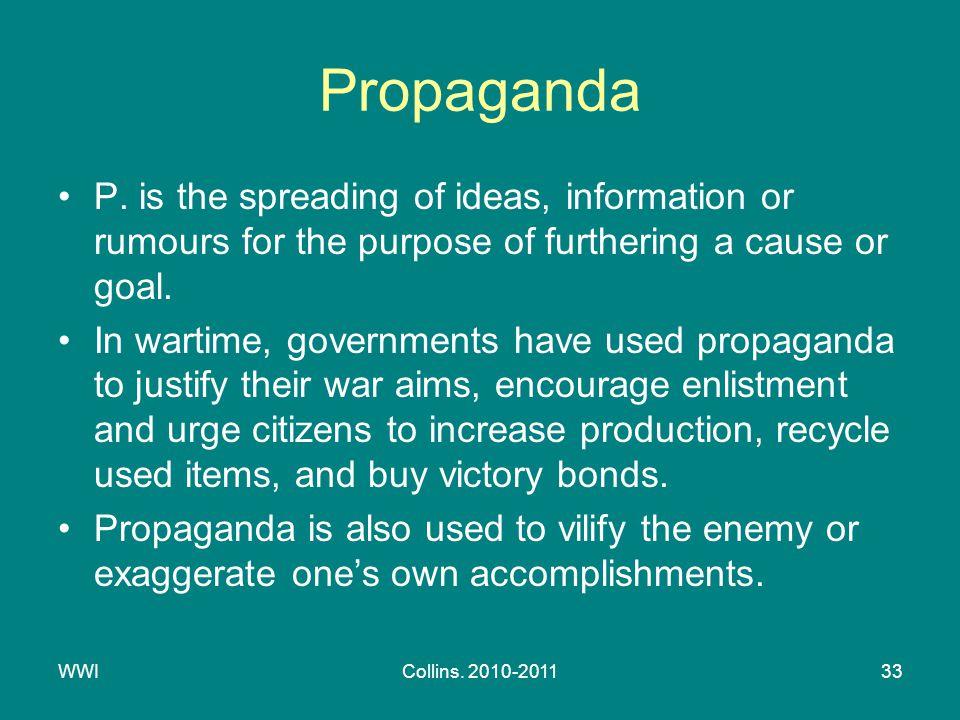 WWICollins. 2010-201133 Propaganda P.