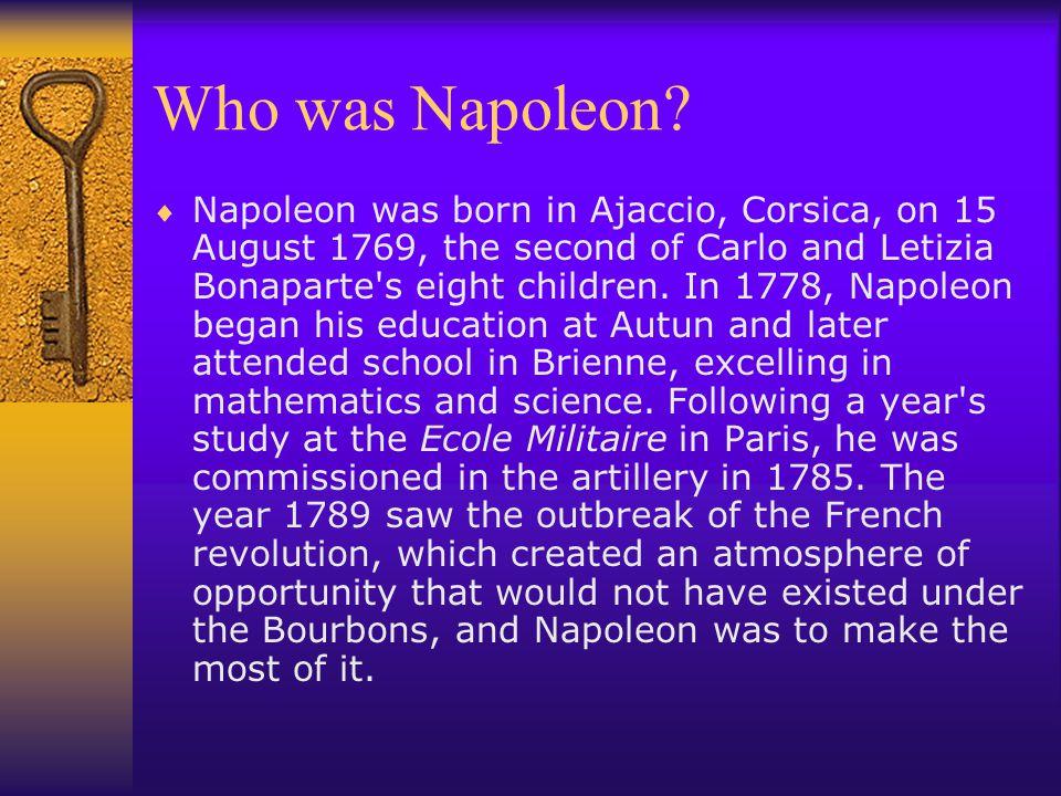 Who was Napoleon.
