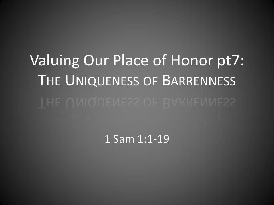1 Sam 1:1-19
