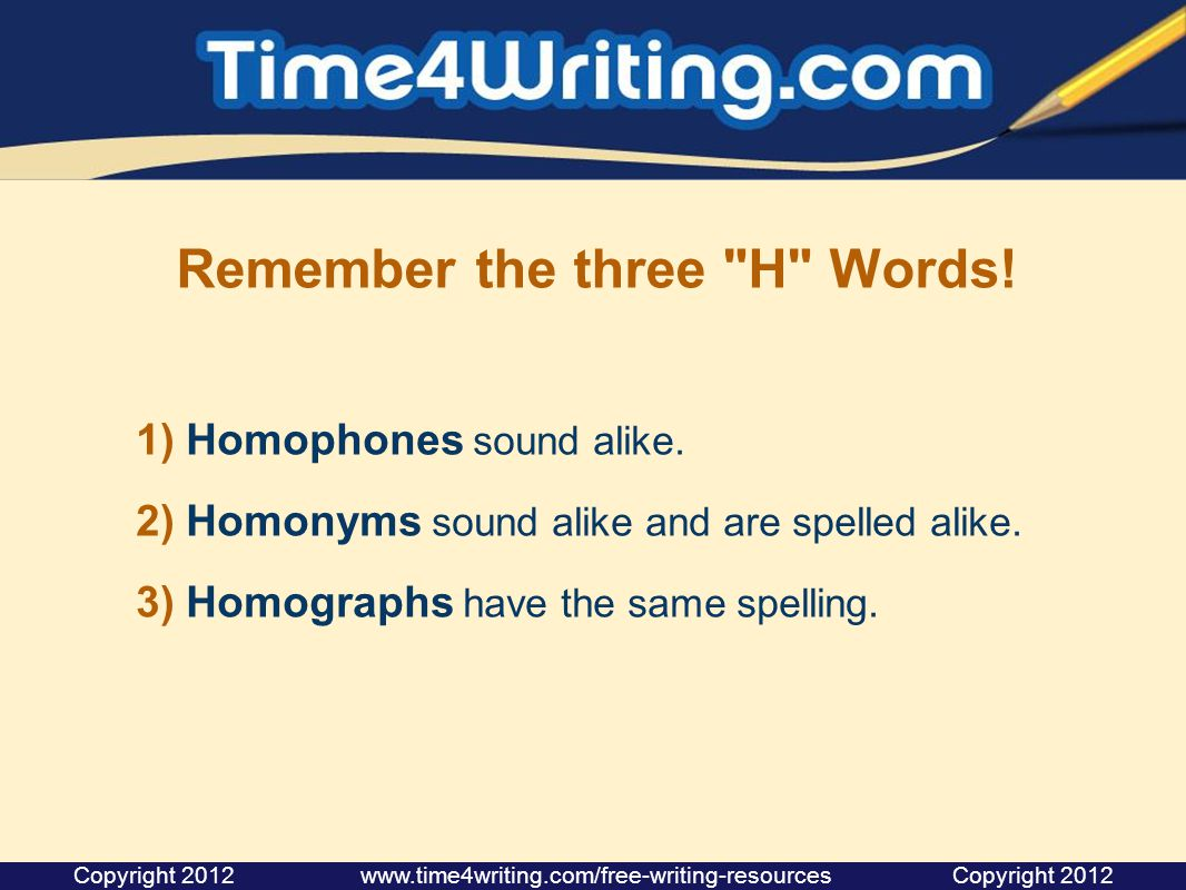 Remember the three
