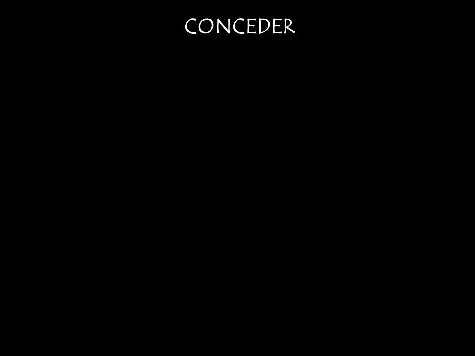 CONCEDER