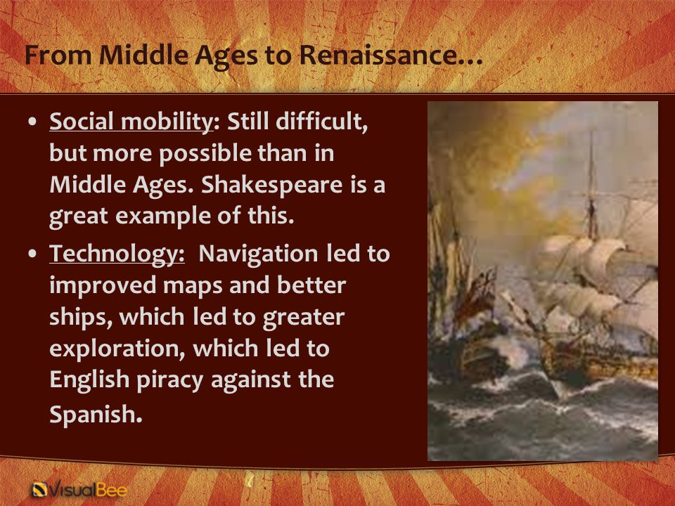 And the greatest change in literature… He was not of an age, but for all time. Ben Johnson on William Shakespeare