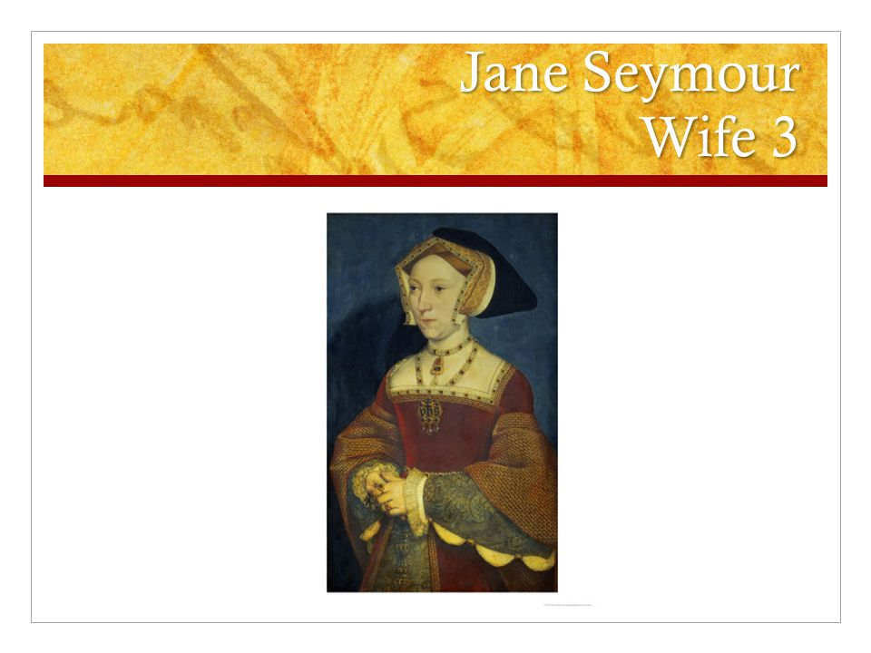 Jane Seymour Wife 3