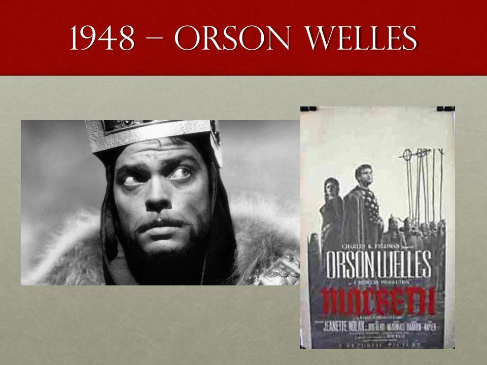 1948 – Orson Welles