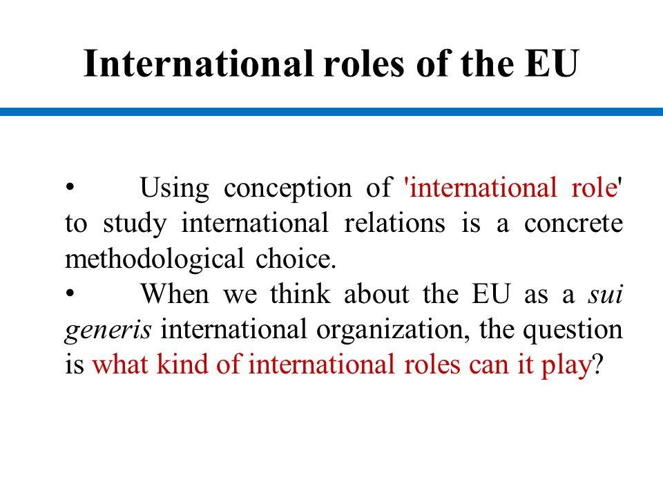 EU as the normative power EU as a normative power is already not new idea.