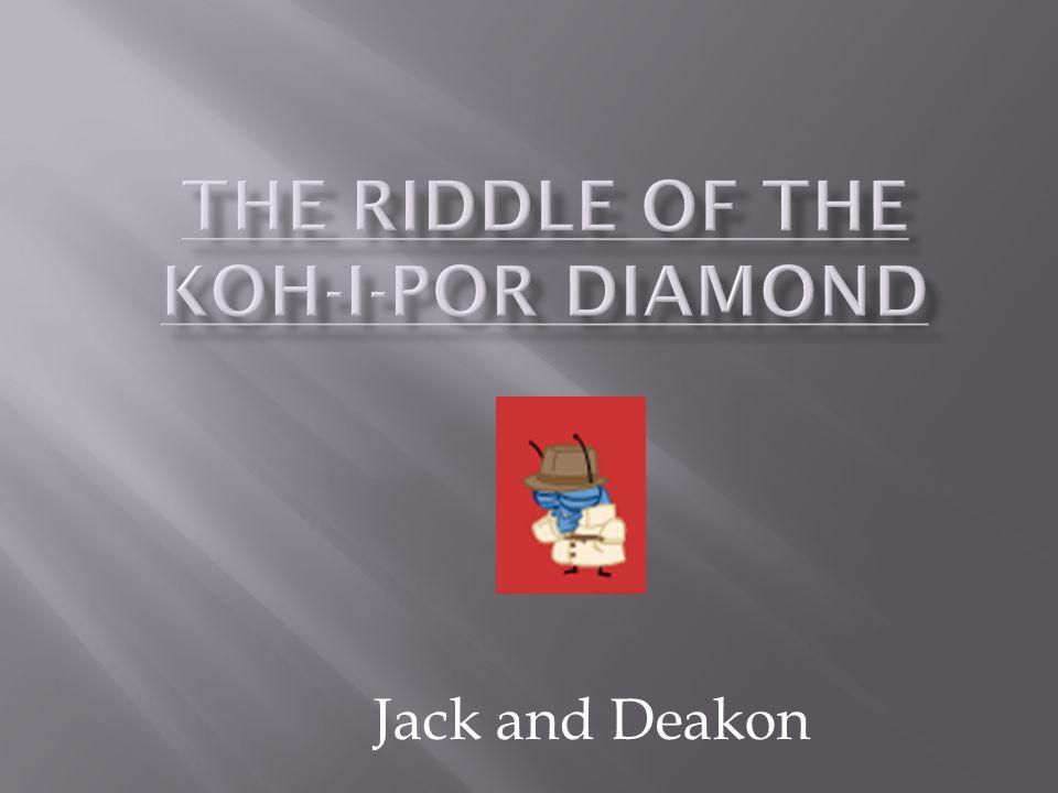 Jack and Deakon