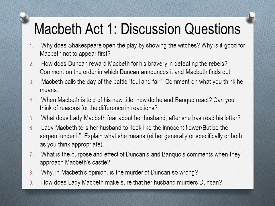 essay question lady macbeth