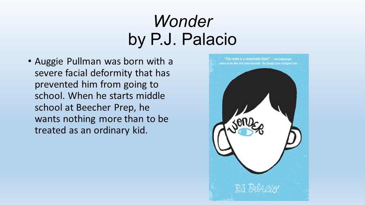 Wonder by P.J.