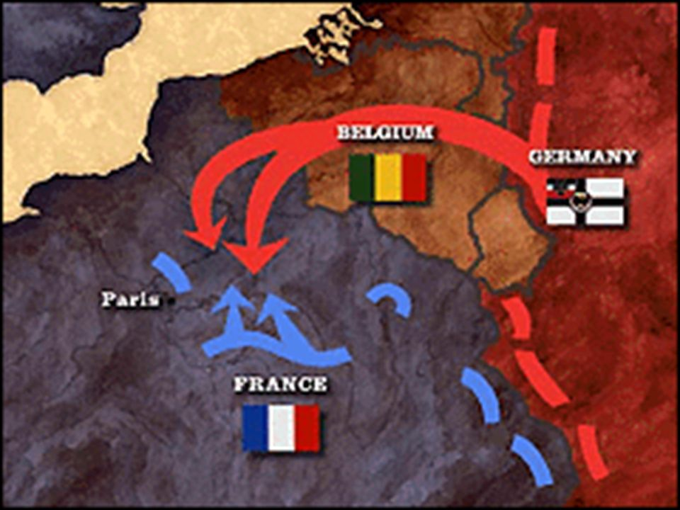 The Schlieffen Plan Germany's plan to win the war early Germany needed a quick strike against France and then a quick strike against Russia Needed to