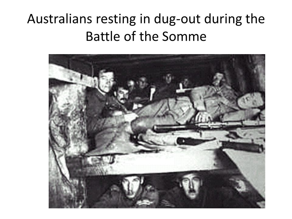 """British prepare to go """"over the top"""" at the Battle of the Somme"""