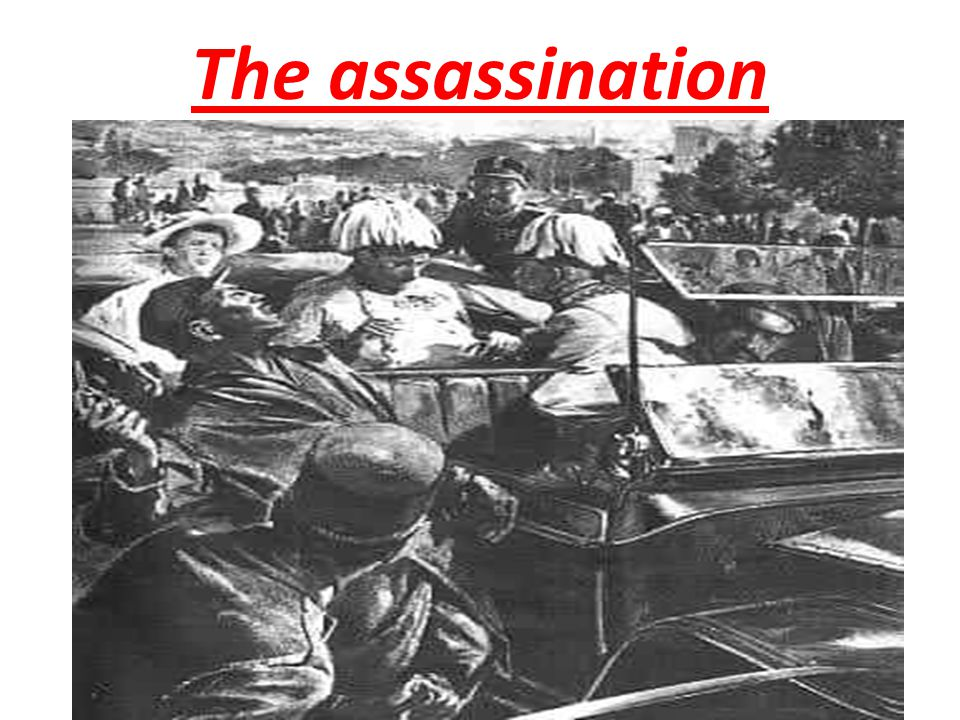 """The assassin… Gavrilo Princip A Serbian nationalist trained in Serbia The """"Black Hand""""…"""